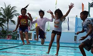 stichting Sparrow Zwemfeest activiteit